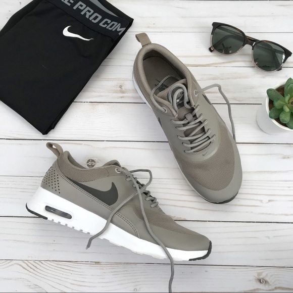 Nike • Air Max Thea IronDark Storm Tennis Shoes